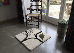 individual rug from I'm On A Road To Nowhere